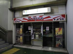 御徒町駅内立ち飲み屋 (Coolpix P7000)